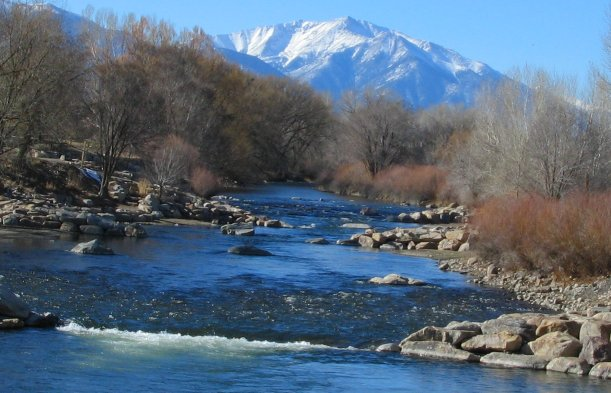The arkansas river in salida photo of mt princeton in for Rio vista fishing spots