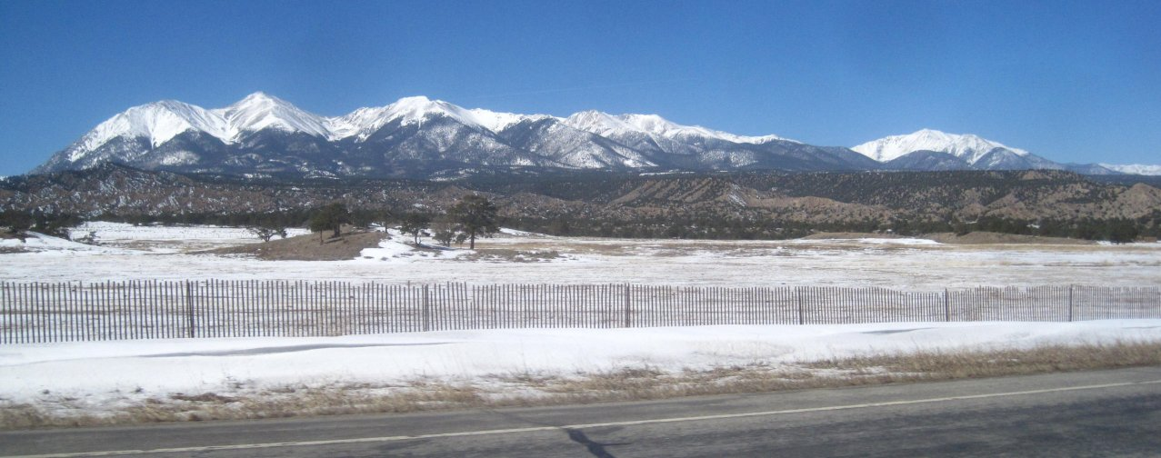 Highway 285, Scenery in Chaffee County