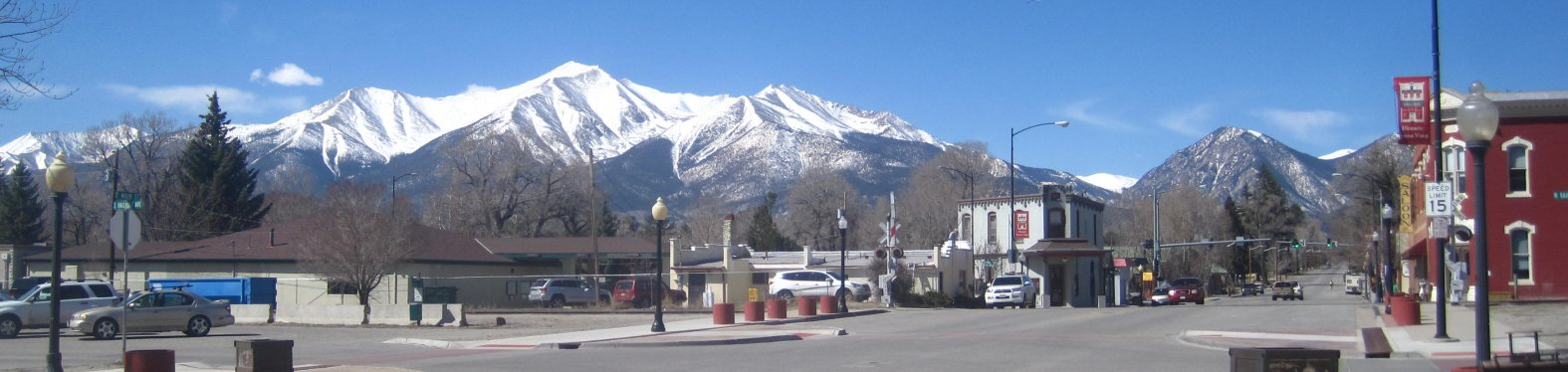 Main Street in Buena Vista, Colorado
