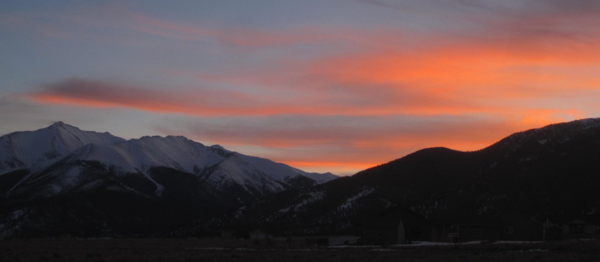 Mount Princeton Sunset
