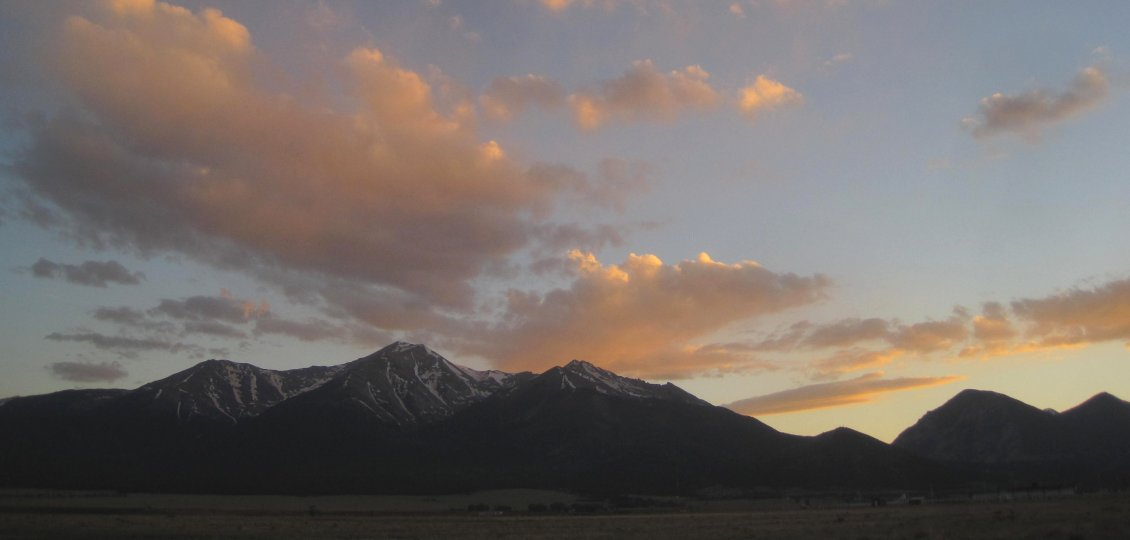 Sunset Over Mt. Princeton, CO